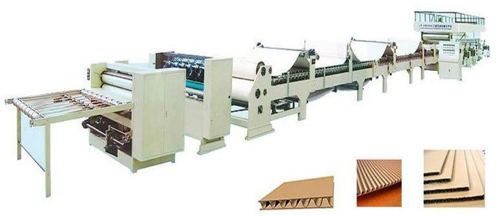 (3Ply Corrugated Cardboard Production Line)